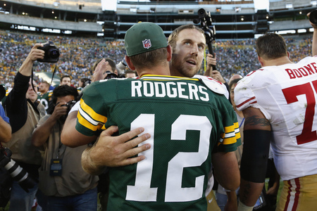 Aaron rodgers alex smith erotic fan fiction