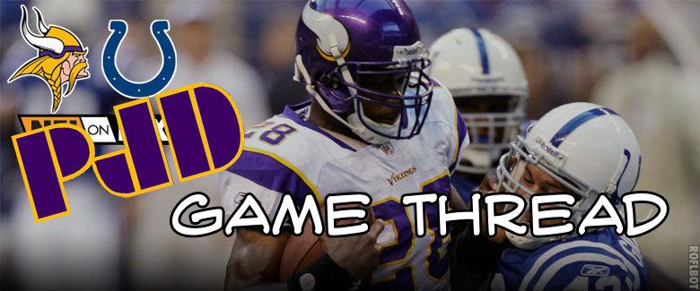 Vikings Colts Banner