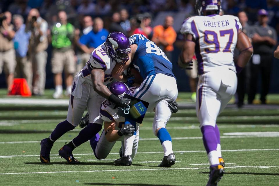 Vikings Colts Defense
