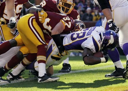 Adrian Peterson Redskins