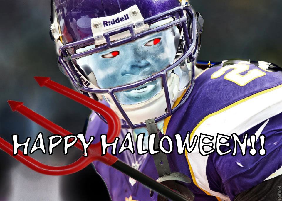 Adrian Peterson Halloween