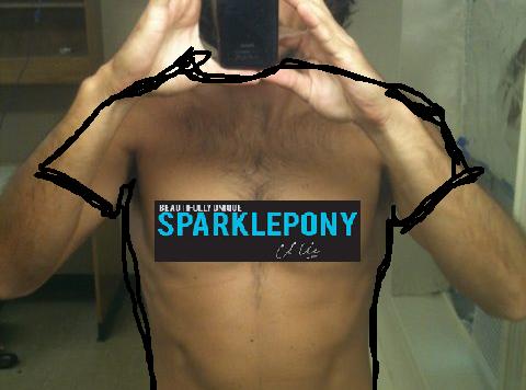 kluwe sparklepony shirt photoshop
