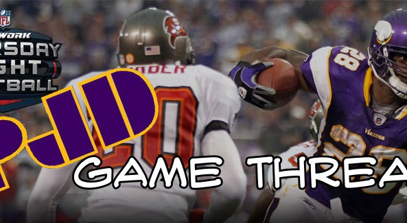 vikings bucs game thread