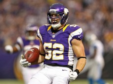 Chad greenway interception lions 2 2012
