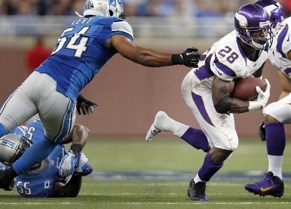 Adrian Peterson Lions