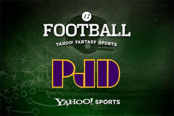 PJD Fantasy Football League