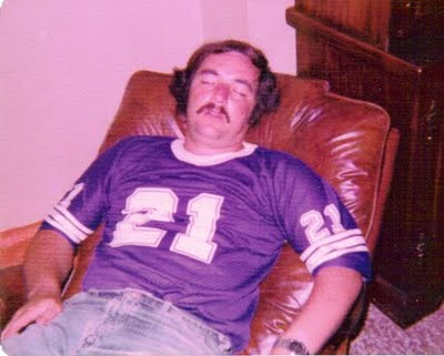 Drunk Vikings Fan