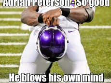 healess adrian peterson meme