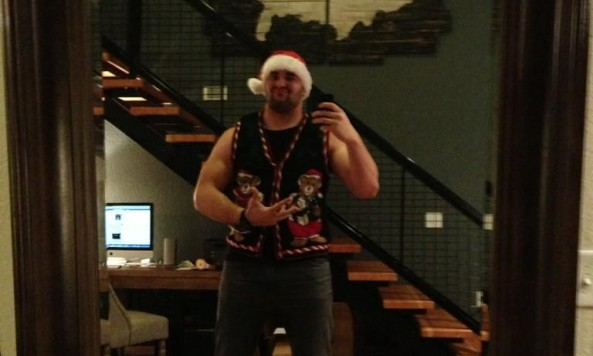 matt kalil ugly christmas sweater