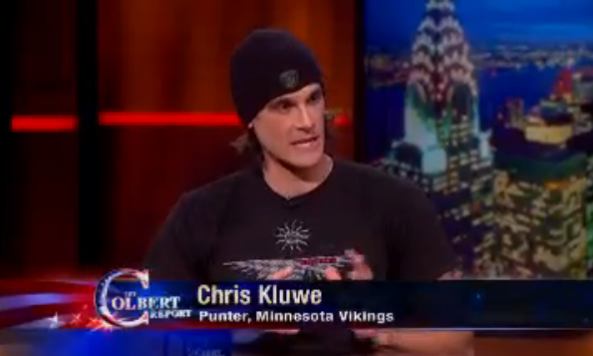 chris kluwe colbert report
