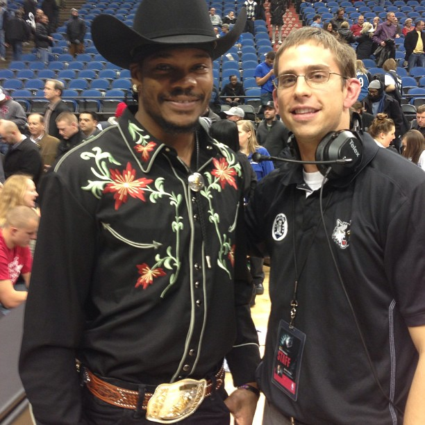 Jerome Simpson Cowboy