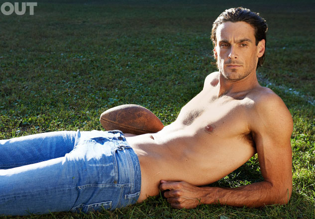 Shirtless Chris Kluwe