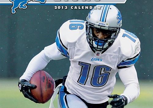 detroit lions 2013 calendar