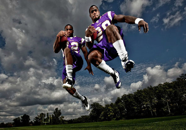 Percy Harvin Adrian Peterson