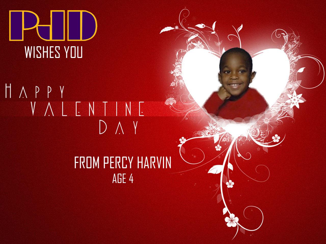 Percy Harvin Valentine