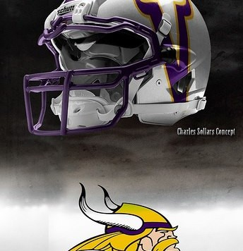 vikings helmet concept
