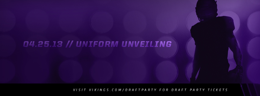 New Vikings Uniforms for 2013
