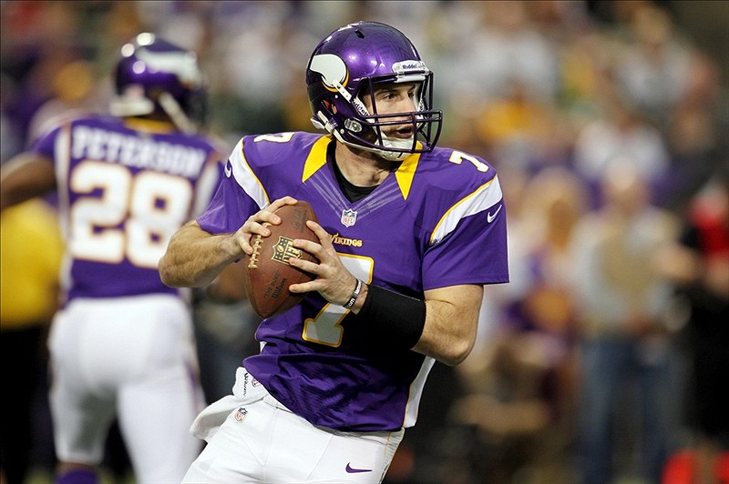 Christian Ponder VIkings