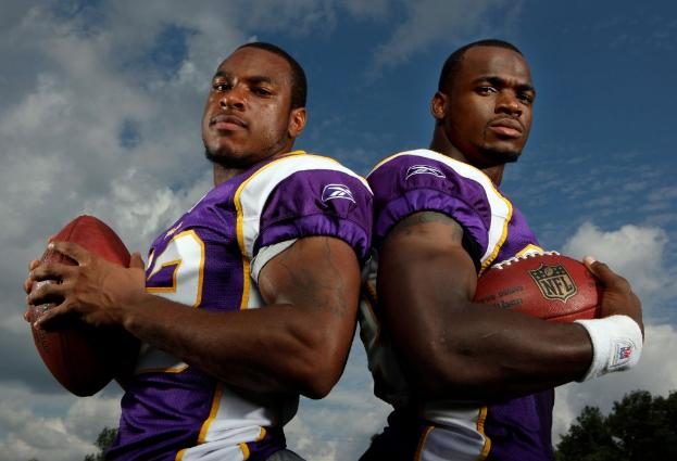 Adrian Peterson and Percy Harvin