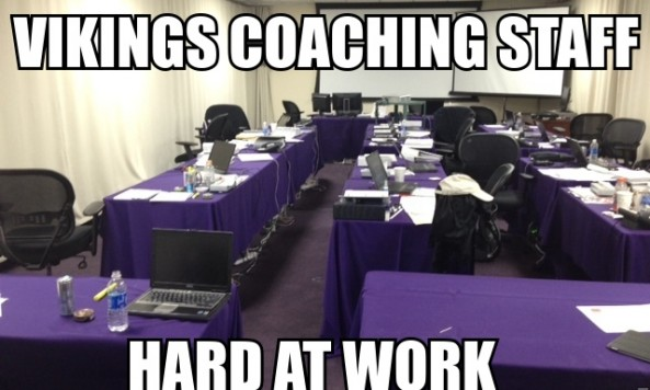 vikings coaching staff