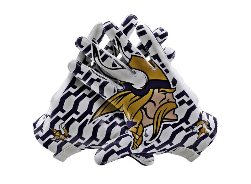 New Vikings Uniform Gloves