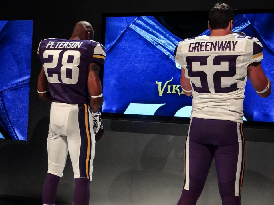 New Vikings Uniforms