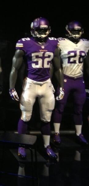 New Minnesota Vikings Uniforms Revealed