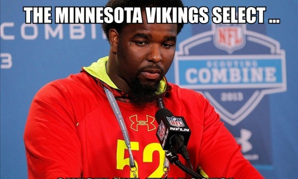 sylvester williams vikings 002 meme