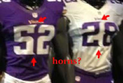 Vikings Uniform Horn Numbers