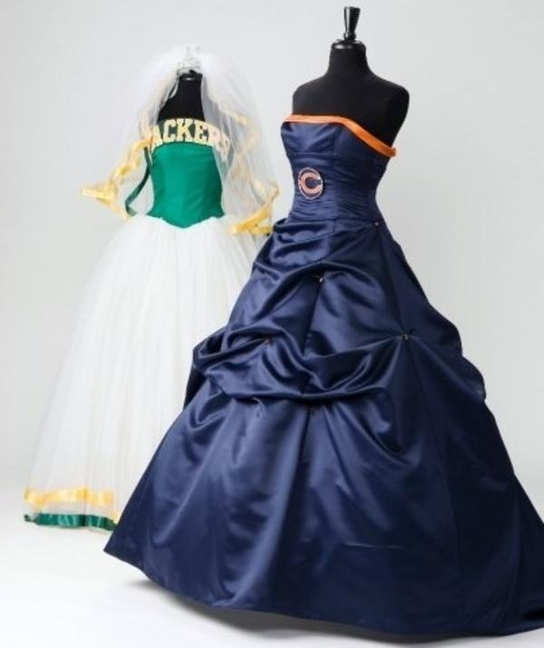 Packers and Bears Dresses
