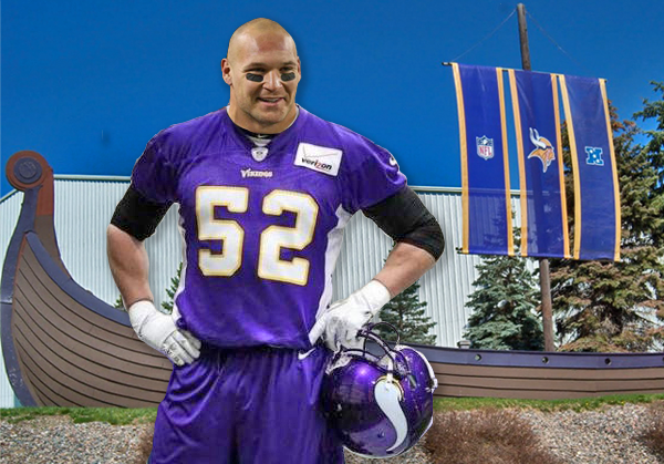 Brian Urlacher as a Viking