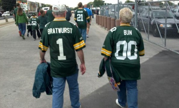 packer fan custom jersey