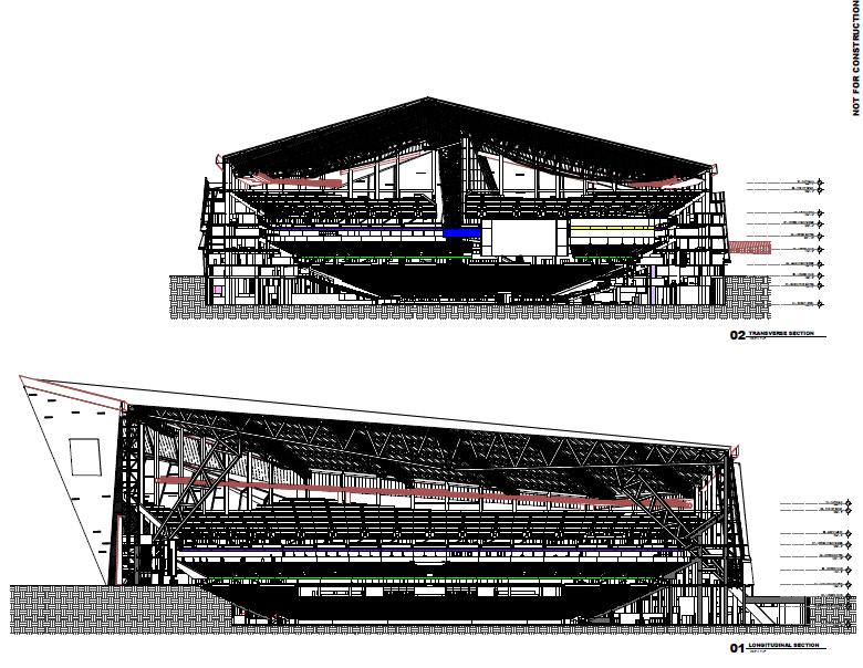 Vikings Stadium Cut Away