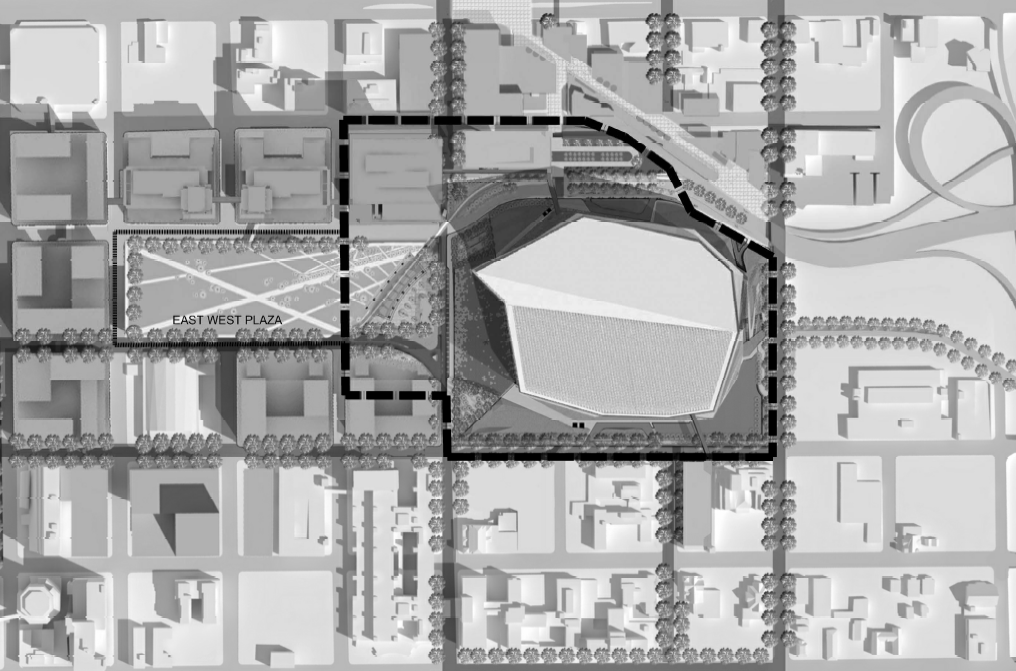 Vikings Stadium Proposed Plaza