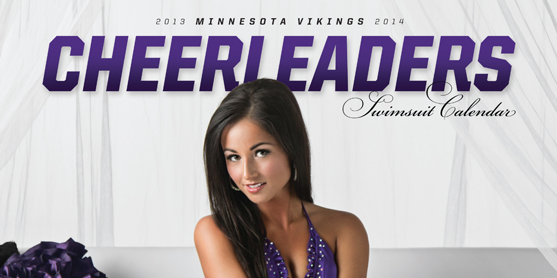 2013 Vikings Cheerleader Swimsuit Calendar