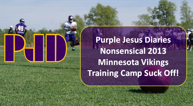 2013 Minnesota Vikings Training Camp