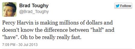 Percy Tweets