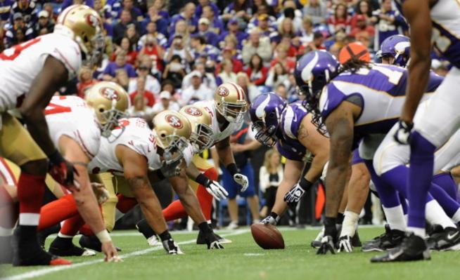 49ers and Vikings