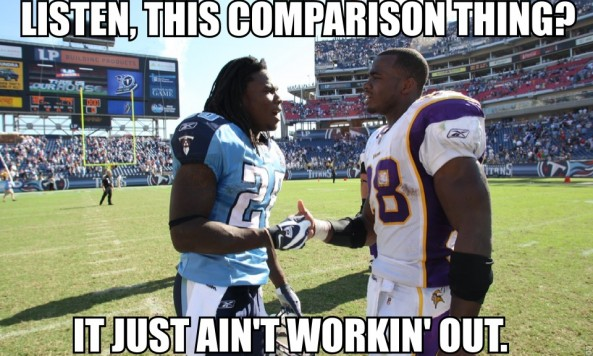 adrian peterson chris johnson