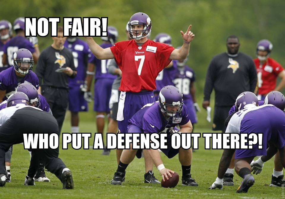 Ponder hates defenses