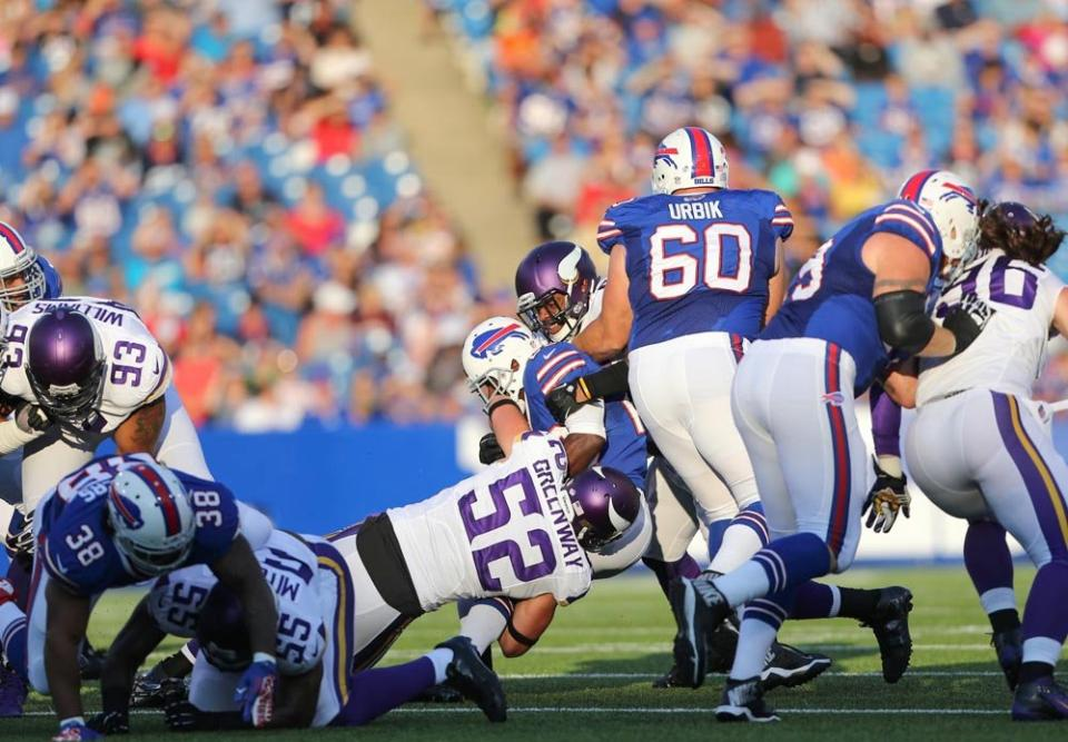 Chad Greenway hits Bills