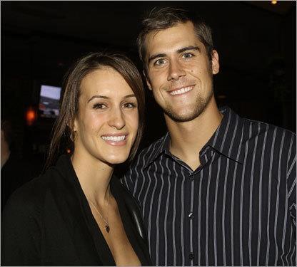 Lauren Killian and Matt Cassel