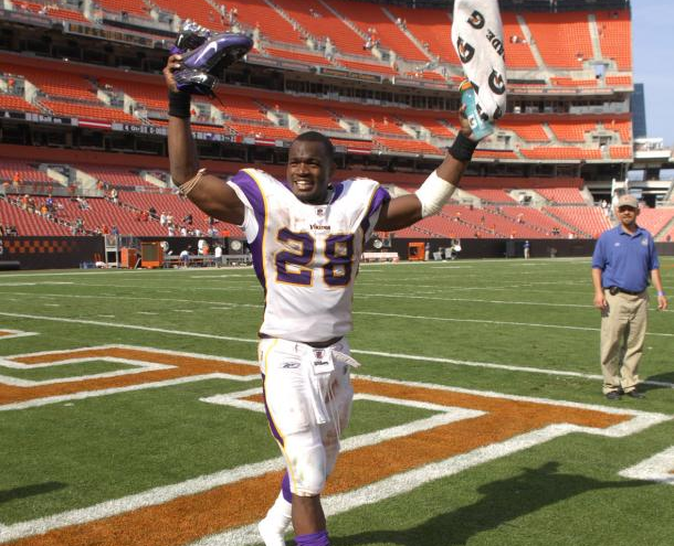 Adrian Peterson in Clevelnd