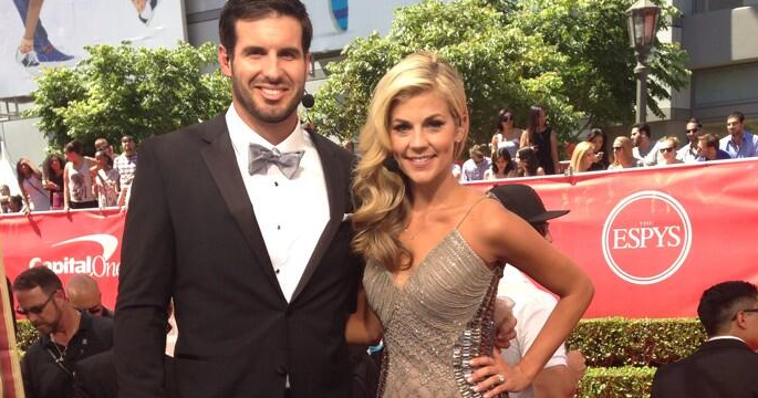 Christian and Samantha Ponder at ESPYs