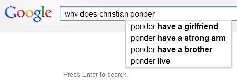 google ponder 2013