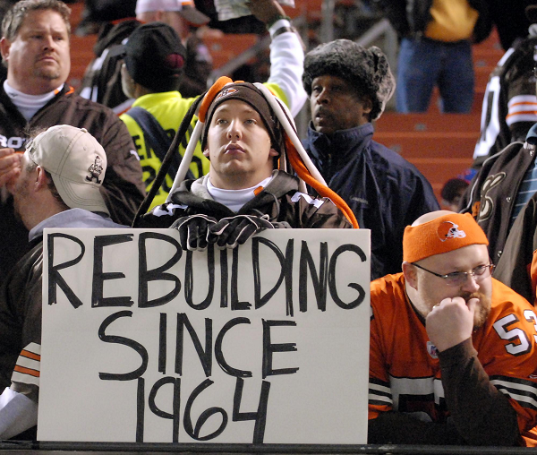 Sad Browns fan