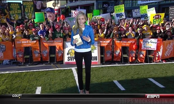 sam ponder gameday sign 2013 big