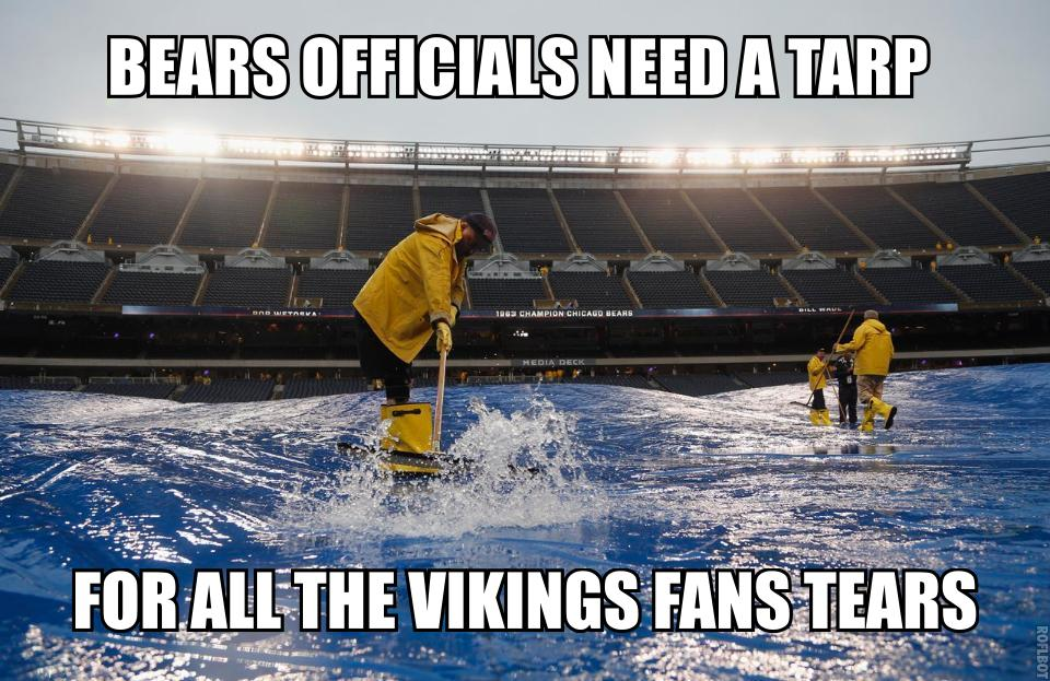 Vikings fans tears