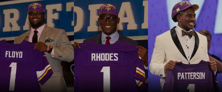 Vikings 2013 Draft Picks