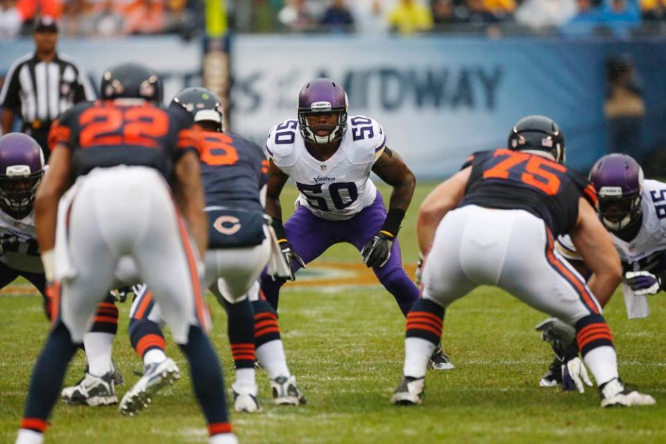 Vikings linebackers are bad